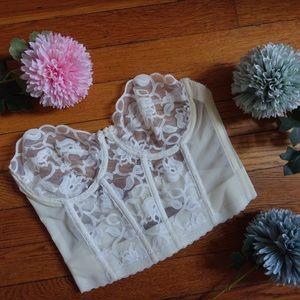 Vintage Victoria's Secret Lace Corset Bustier
